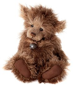 Charlie Bear Scruffy Lump Teddy Bear Cottage - Collectable Charlie Bears
