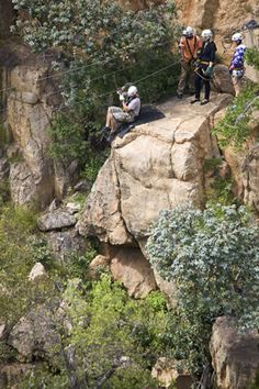 The Magaliesberg Canopy Tour® takes you on a journey through one of the oldest mountain ranges in the world - estimated to be million years old. Adventure Activities, Geology, Canopy, South Africa, Mount Rushmore, Old Things, Tours, World, Travel