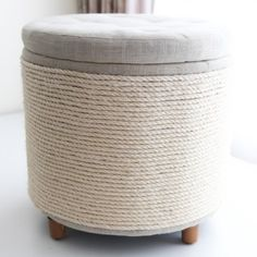 Sick of your cats ruining your furniture? DIY an easy solution with this scratching post that still looks trendy and stylish.
