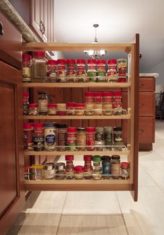 Spice Rack Nj Custom Pull Out Spice Racki Want This On Each Side Of My Microwave Inspiration Design