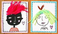 Get crafty with free printable valentines.
