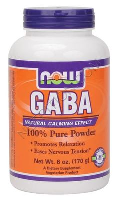 Take GABA for... anxiety, cravings, will power, weight, stress and some forms of depression. GABA helps stablize nerve cells by decreasing their tendency to fire erratically or excessively. This means it has a calming effect for people who struggle with temper, irritability, and anxiety.