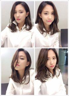 Miss A Fei's gorgeous 4-version selfie!