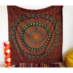 Custom Soft Fleece Throw Blanket Mandala Decor Sun Goddess Illustration Yantra Mandala Art Ethnic Indian Floral Pattern Boho Batteries
