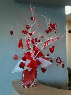Valentine table decoration