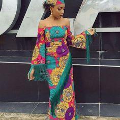 Pictures Of Latest Chic And Trendy Ankara Styles Of 2018 Trendy Ankara Styles, Ankara Gown Styles, Maxi Styles, Ankara Dress, Ankara Fabric, African Print Fashion, Africa Fashion, African Fashion Dresses, Ethnic Fashion