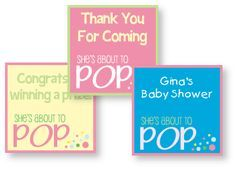 Creative baby carriage shower theme ideas shower favors free baby shower favor tag printables negle Images