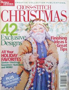 Cross-stitch Christmas by Better Homes and Gardens (2004) // 42 Designs