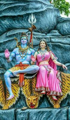 Lord Shiva Statue, Lord Shiva Pics, Lord Shiva Hd Images, Lord Shiva Family, Shiva Parvati Images, Mahakal Shiva, Shiva Art, Ganesha Art, Lord Ganesha Paintings