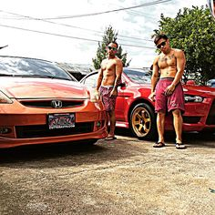 """Edit game ✔️ pau clean car  time to lift  #bros #clean #car #hondafit #mitsubishilancer #carwash #noflexzone #gayboy #oldersmallerbro @j_bana11 #fitnation #youaintonmyleveldoe"" Photo taken by @iban3r on Instagram, pinned via the InstaPin iOS App! http://www.instapinapp.com (01/17/2015)"