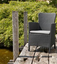 Prachtige en comfortabele dining stoel #chair #garden