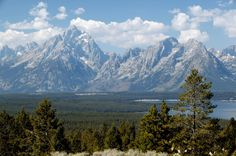 Truly a must see....The Grand Tetons in Wyoming. Just Awe Inspiring. #tripsifu #scenicroute
