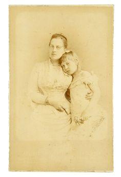 Queen Olga and her daughter