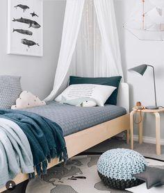 Boy's blue room