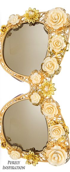 Dolce & Gabbana Flower Lace collection sunglasses | Purely Inspiration