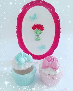 Günaydın Miss kokulu Cupcake kutularım tam yemeliik  Siparis icin whatsapp veya dmden ulasabilirsiniz ☎05448918750  #soft #kokulu #cupcake #cerceve #kokulutaşcupcake #kokulutaşev #kokulutas #kokulutaş #mint #pembe #aşk #kokulutascerceve #siparis #siparisalinir