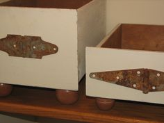 Gorgeous drawer boxes made by @Laurel Sanders Putman of Chipping with Charm  http://chippingwithcharm.blogspot.com/