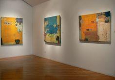 Installation Sammy Peters Paintings at LewAllen Galleries, Santa Fe 2013