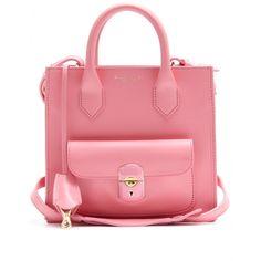 #Balenciaga - Padlock mini leather shoulder bag <3
