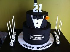 Image Result For 21st Birthday Cakes Male 18th Cake Guys Bday