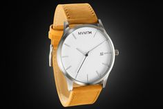 White / Tan Leather | MVMT Watches
