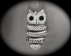 Vintage necklace OWL $200