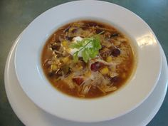 A Busy Mom's Slow Cooker Adventures: Black Bean Soup with Chicken and Salsa