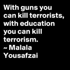 Malala Yousafzai Quotes Malala Yousafzai  Quotes & Inspiration  Pinterest  Malala .