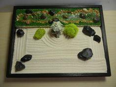 Special 2 In 1 Medium Japanese Garden With Pond And Stream Or Zen Garden    DIY Kit