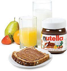 Nutella. Need I say more?