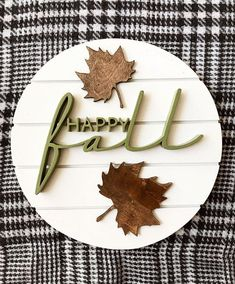 Handmade Fall Decor / Wood Sign / Sign / Custom Sign / Fall Sign / Fall Decorations decor ideas for office Fall Wood Signs, Fall Signs, Wooden Signs, Wood Crafts, Diy Crafts, Router Projects, Decoupage, Fall Projects, Diy Projects