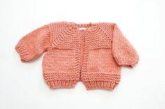 28074d44053bc5 Image of Carlisle Hand knit Cardigan (shown in burnt orange) of Peruvian  wool Cardigan