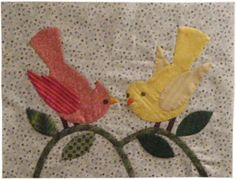 Beth Donaldson: Quiltmaker: Free Quilt Patterns.  Click on this for the free bird appliqué template.