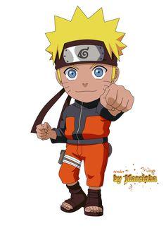 Chibi - Naruto Uzumaki by Marcinha20.deviantart.com on @DeviantArt