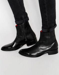 Base London Lancelot Leather Boots