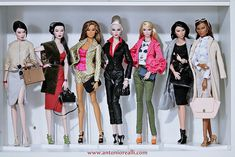 Antonio realli | Part of my collection of FR16. | Antonio Realli / Brasilian Fashion Doll Designer | Flickr