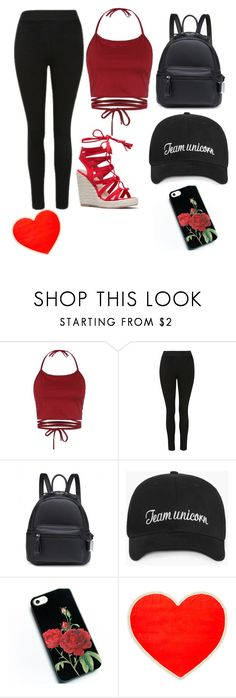 """Team rebel"" by lanakerlin ❤ liked on Polyvore featuring ban.do"