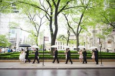 Exquisitely captured by averyhouse, the wedding party posed for photos along Michigan Avenue, then continued the celebration at the award-winning Westin Chicago Northwest.