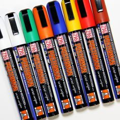 6mm Posterman Wet Wipe Chalkpens