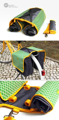 Charming Bicycle Pannier.  Design your own... you pick the color and the…