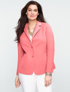 Talbots - Double-Faced Jacket