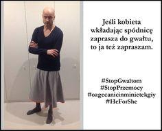 Robert Koszucki - Razem przeciw kulturze gwałtu! #StopGwaltom #StopPrzemocy #HeForShe #ozgecanicinminietekgiy