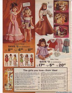 Christmas Catalogs, Christmas Toys, Retro Christmas, Childhood Toys, Childhood Memories, Doll Toys, Baby Dolls, Biker Movies, Childrens Dolls