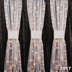 Try this White Gossamer roll for decorating your special events. The perfect addition to your party supplies, this fabric looks lovely adorned on tables, ...