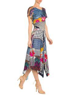Vestido Lisu - Adriana Barra - Azul  - Shop2gether