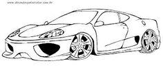 Resultado de imagem para carros p colorir