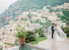 Wedding Portraits in Positano