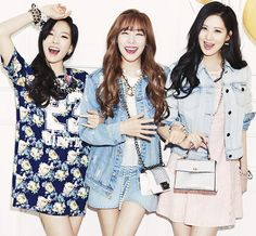 #SNSD #TTS #photoshoot #smile
