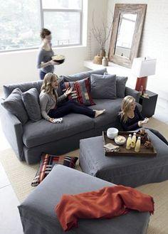 Love this couch from Crate and Barrel. Do you have any experience with C&B furniture?