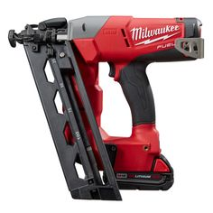 18v Brushless 16ga Angled Finish Nailer Kit | Milwaukee Tool ~ $349